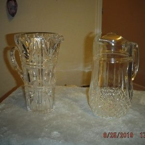 Crystal Water Pitchers